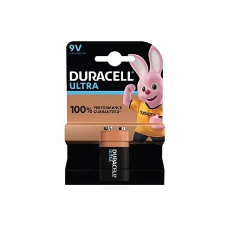 Pilhas Alcalinas Duracell Ultra Power 9V 1 Pack