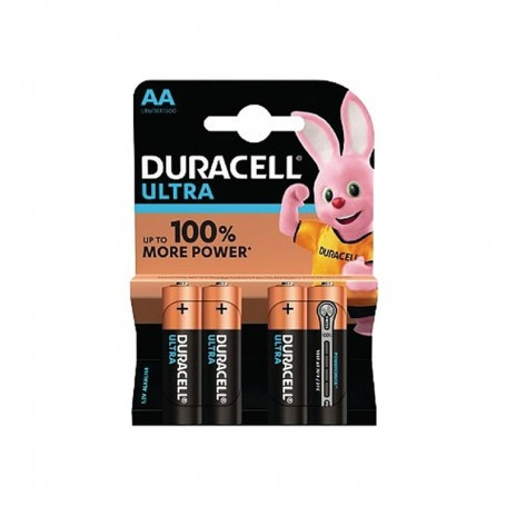 Pilhas Alcalinas Duracell Ultra Power AA 4 Pack