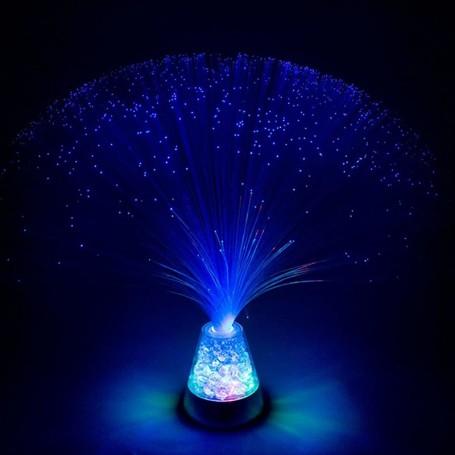 Pluma de Fibras Óticas LED Multicolorida