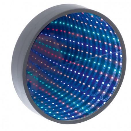 Espelho Túnel Infinito LED Multicolorido