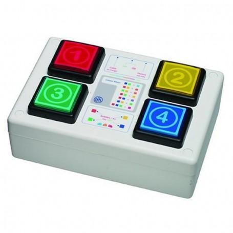 Controlador Colorido s/ Fios para Sala Sensorial