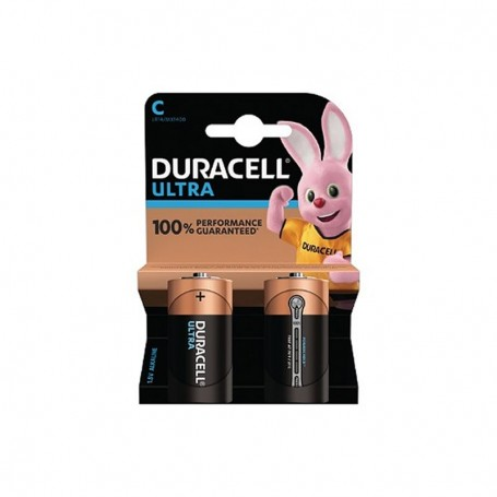 Pilhas Alcalinas Duracell Ultra Power C 2 Pack