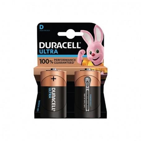 Pilhas Alcalinas Duracell Ultra Power D 2 Pack