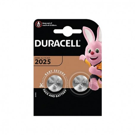 Pilhas Lítio Duracell CR2025 2 Pack