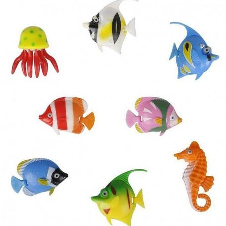 Peixes Coloridos para Colunas Água