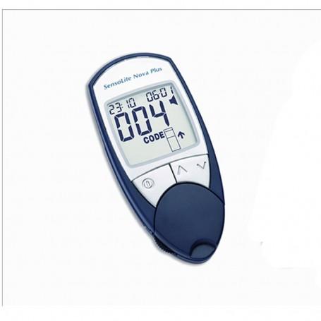 Medidor Glucose Nova Plus c/ Voz Portuguesa