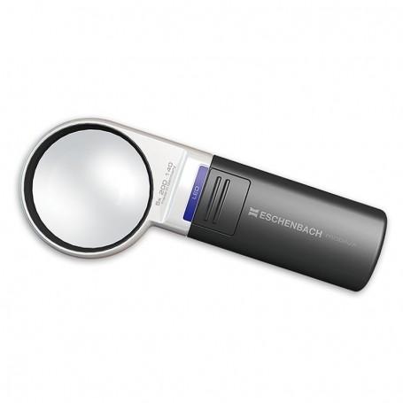 Lupa de Mão Mobilux® LED Ø58mm 5.0x Eschenbach