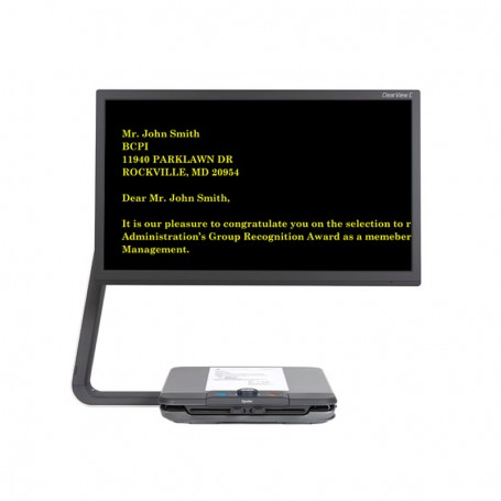 Ampliador ClearView C HD 24 TTS (voz) Optelec