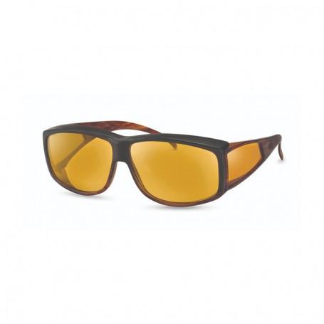 Óculos WellnessPROTECT® Preto/Castanho Extra
