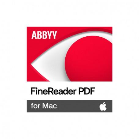 Software ABBYY FineReader 15 Std MAC®