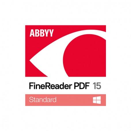 Software ABBYY FineReader 15 Std WIN