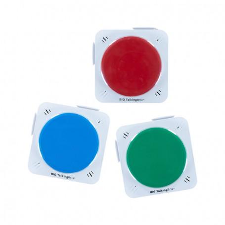Comunicador BIG TalkingBrix Pack 3 Ablenet