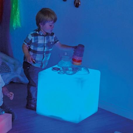 Cubo Luminoso Sensorial TTS