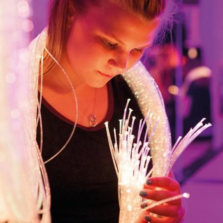 Fibras Óticas Super Seguras 2 mts c/ Luz LED