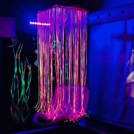 Cascata de Fibras Óticas c/ Fonte Luz LED TFH