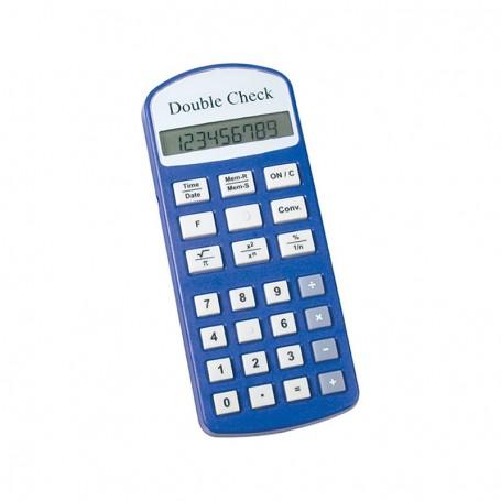Calculadora DoubleCheck c/ Voz Portuguesa