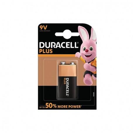 Pilhas Alcalinas Duracell Plus Power 9V 1 Pack