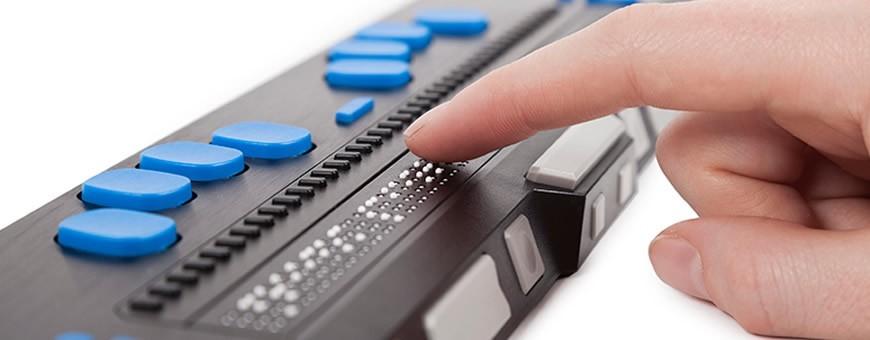 Voz e Braille